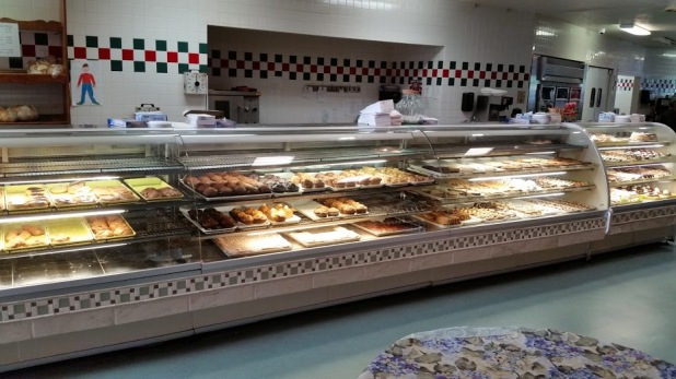 Doughnut display in Fort Bend, Indiana